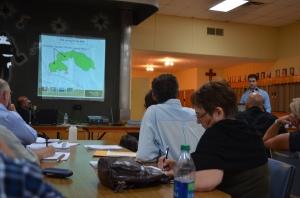 presentation by representative of asphalt plant