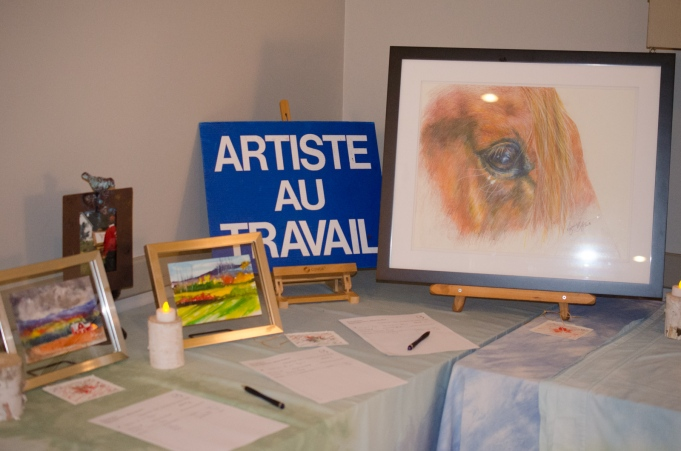 Paintings by Pierrette Dulude Bohay and Suzanne Bohay