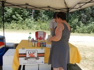Jessup's Falls Festival barbecue 2018