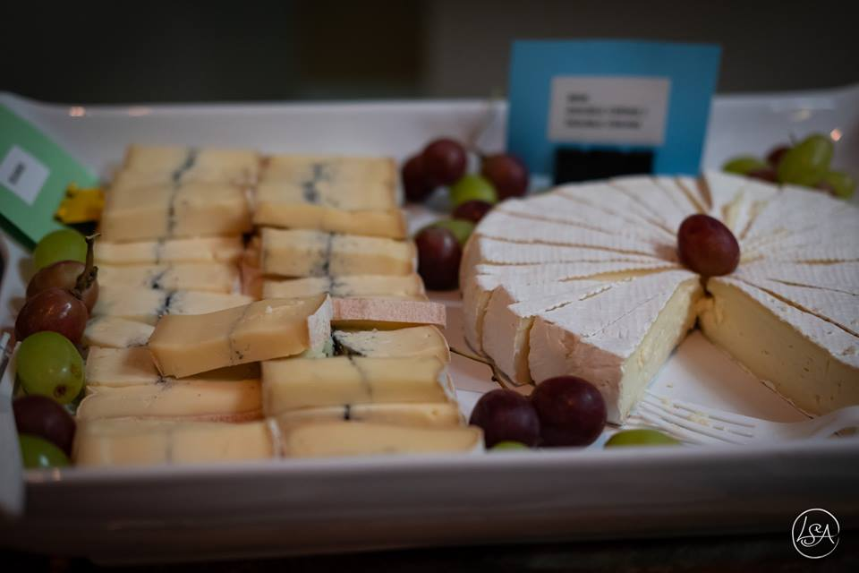 A great variety of cheeses available